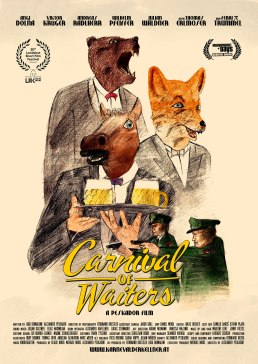 Carnival of Waiters - Poster (English Version)